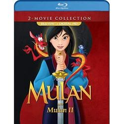 Mulan / Mulan II Blu-ray Cover