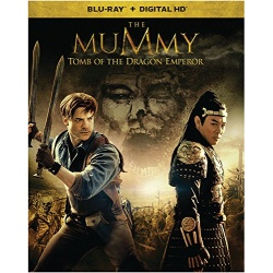 Mummy: Tomb of the Dragon Emperor Blu-ray Cover