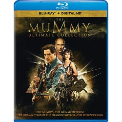 Mummy Ultimate Collection Blu-ray Cover