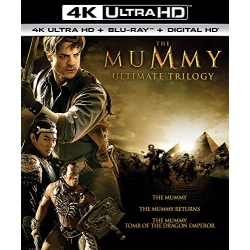 Mummy Ultimate Trilogy Blu-ray Cover