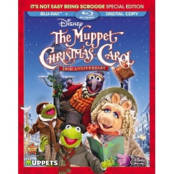 Muppet Christmas Carol Blu-ray Cover