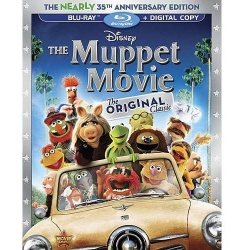 Muppet Movie Blu-ray Cover
