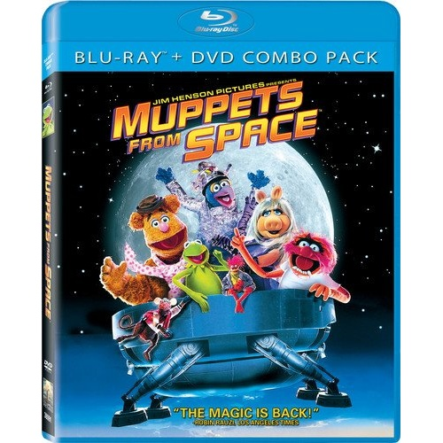 Harry Potter Muppets: Muppets From Space Blu-ray Disc Title Details