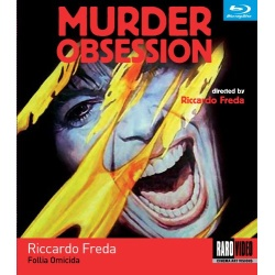 Murder Obsession Blu-ray Cover