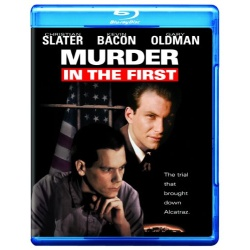 Murder in the First Blu-ray Cover