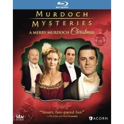 Murdoch Mysteries Christmas Blu-ray Cover