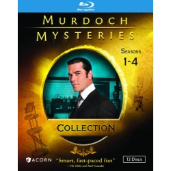 Murdoch Mysteries Collection: Seasons 1-4 Blu-ray Cover