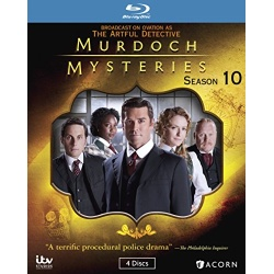 Murdoch Mysteries: Season 10 Blu-ray Cover