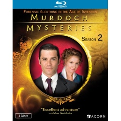 Murdoch Mysteries: Season 2 Blu-ray Cover