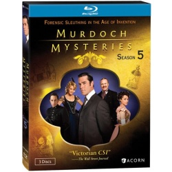 Murdoch Mysteries: Season 5 Blu-ray Cover