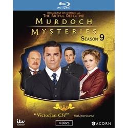 Murdoch Mysteries: Season 9 Blu-ray Cover