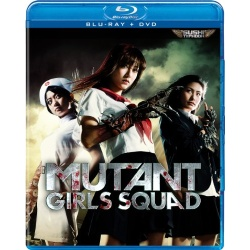 Mutant Girls Squad Blu-ray Cover