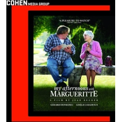 My Afternoons with Margueritte Blu-ray Cover