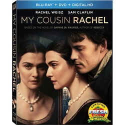 My Cousin Rachel Blu-ray Cover