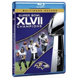 NFL Super Bowl XLVII Champions: 2012 Baltimore Ravens Blu-ray Cover
