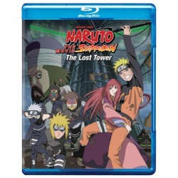 Naruto Shippuden: The Movie - The Lost Tower Blu-ray Cover