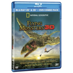 National Geographic: Flying Monsters 3D Blu-ray Cover