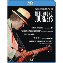 Neil Young: Journeys Blu-ray Cover