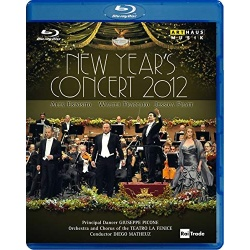 New Year's Concert 2012 Blu-ray Cover