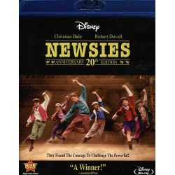 Newsies Blu-ray Cover