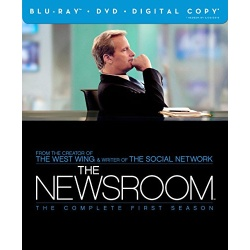 Newsroom: The Complete 1st Season Blu-ray Cover