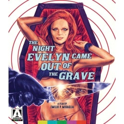 Night Evelyn Came Out of the Grave Blu-ray Cover
