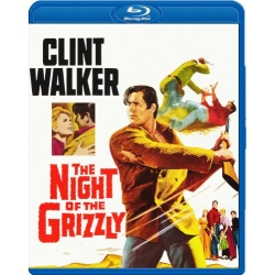 Night of the Grizzly Blu-ray Cover