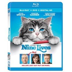 Nine Lives Blu-ray Cover