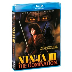Ninja III: The Domination Blu-ray Cover