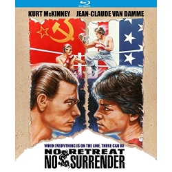 No Retreat, No Surrender Blu-ray Cover