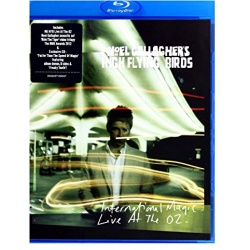 Noel Gallagher: International Magic - Live at the O2 Blu-ray Cover