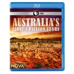 Nova: Australia's First 4 Billion Years Blu-ray Cover