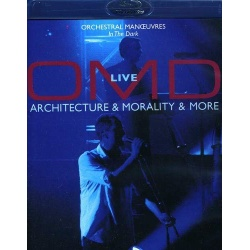 OMD: Architecture Morality & More Blu-ray Cover