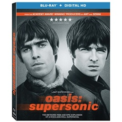 Oasis: Supersonic Blu-ray Cover
