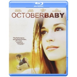 October Baby Blu-ray Cover