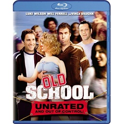Old School Blu-ray Cover