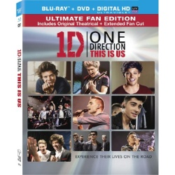 One Direction: This is Us Blu-ray Cover