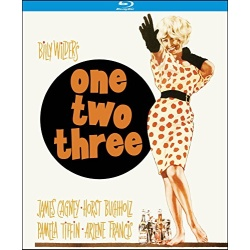 One, Two, Three Blu-ray Cover