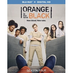 Orange is the New Black: Season 4 Blu-ray Cover
