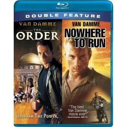 Order / Nowhere To Run Blu-ray Cover