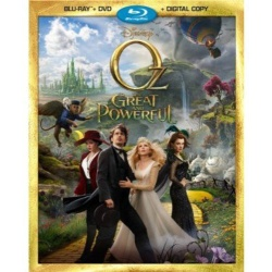 Oz the Great and Powerful Blu-ray Cover