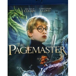 Pagemaster Blu-ray Cover