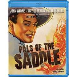 Pals of the Saddle Blu-ray Cover