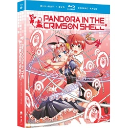 Pandora in the Crimson Shell: Ghost Urn Blu-ray Cover