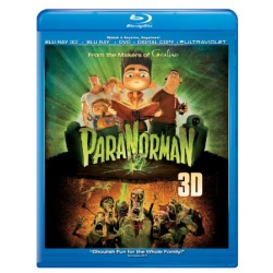 ParaNorman 3D Blu-ray Cover