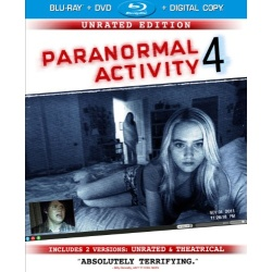Paranormal Activity 4 Blu-ray Cover
