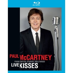 Paul McCartney: Live Kisses Blu-ray Cover