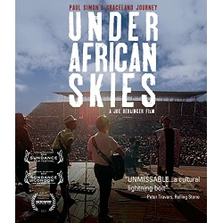 Paul Simon: Under African Skies Blu-ray Cover