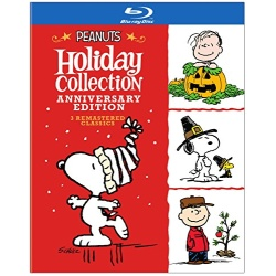 Peanuts Holiday Collection Blu-ray Cover