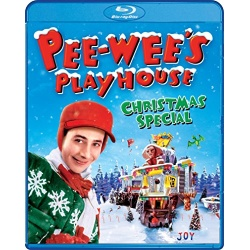 Pee-Wee's Playhouse Christmas Special Blu-ray Cover